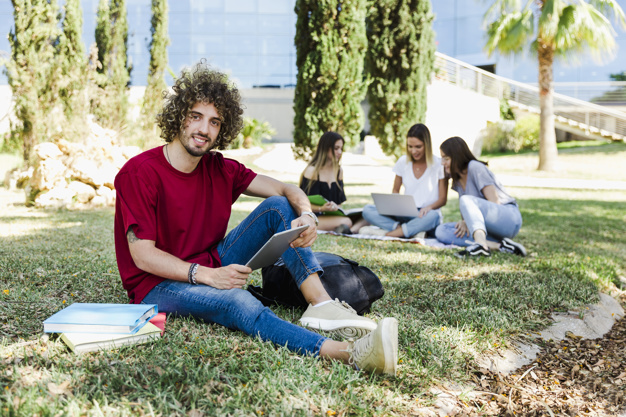 people-sitting-in-university-campus